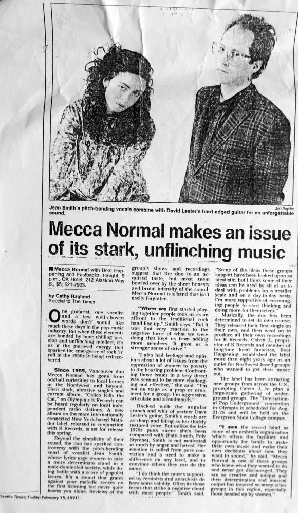 Seattle Times, February 15, 1991