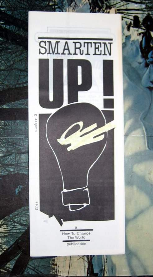 Smarten UP! zine by Jean Smith mid 1980s, Vancouver